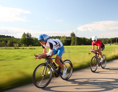 Dranbleiben! – Imagefilm for a professional triathlete