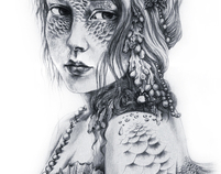 The Fantasy Drawings of Ginger Kelly Studio