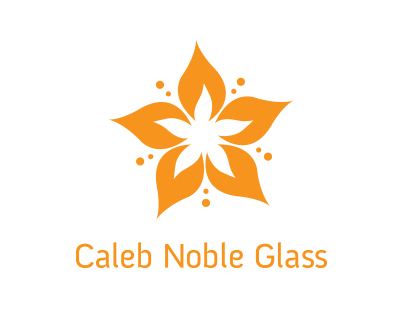 Caleb Noble Glass Brand Identity