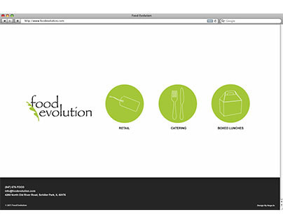 Food Evolution Website
