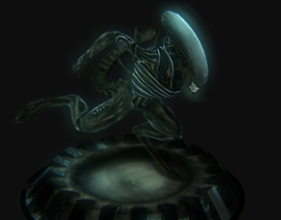 3D Model: Xenomporph