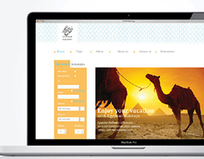 Redesigning Egyptian Railways website