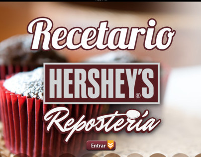 Motion Graphics Hersheys Postres App
