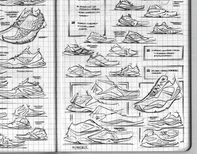 New Balance Sketchbook