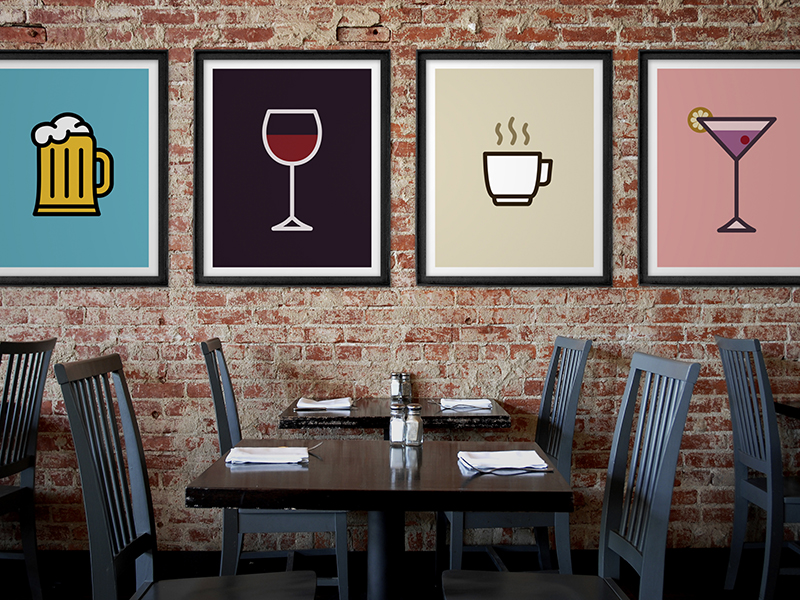 Icon Prints: Drinks Serie