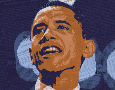 Barak Obama Illustration