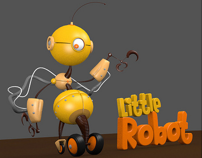 Little Robot 3D