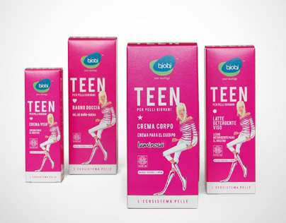 Packaging Design Teen