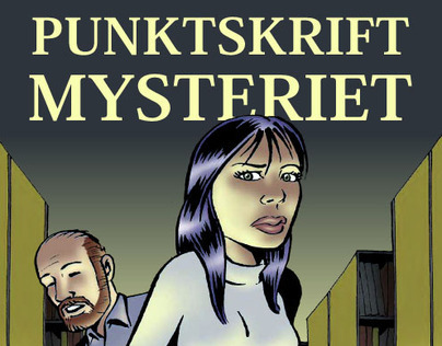 Comic book in Danish
