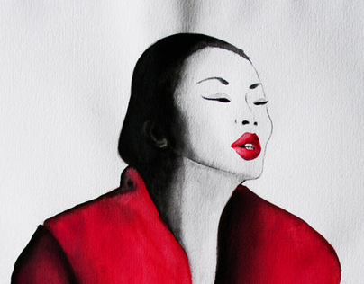 Fashion Ilustration chinesse