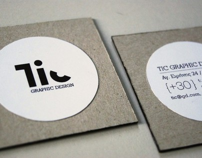 Tic - Branding & Stationery Design