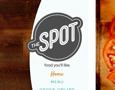 The Spot website & logo