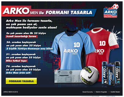 Arko Men ile Formanı Tasarla