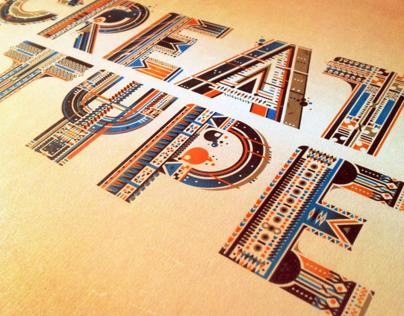CREATIVE TYPE_illustrative typography