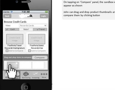Banking Application for iPhone