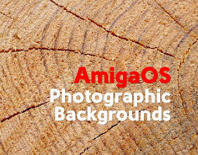 AmigaOS Photographic Backgrounds