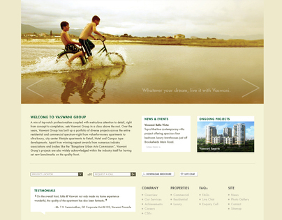 Vaswani group web interface