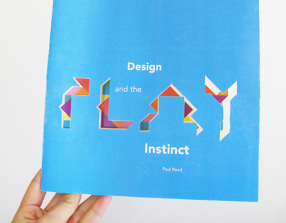 Re-design Design and the Play Instinct by Paul Rand
