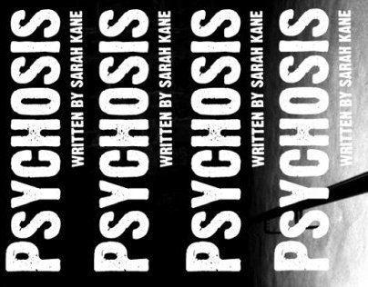 4.48 Psychosis Stage Play Poster