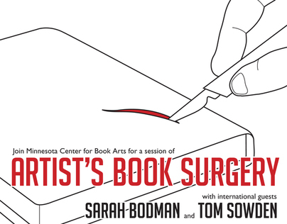 Illustration: MCBA Artists Book Surgery Poster