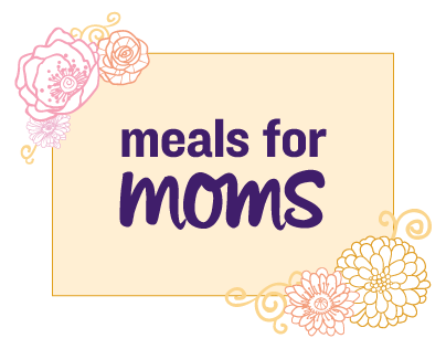 Meals for Moms Microsite