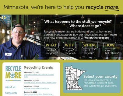 Web: Recycle More Minnesota