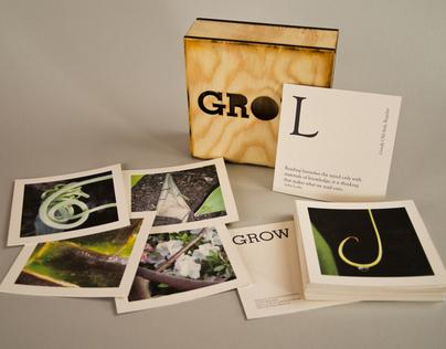 GROW Card Set
