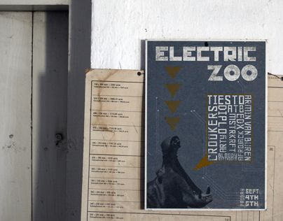 Electric Zoo Event Poster