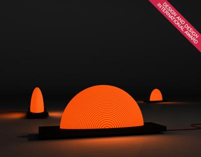 Sunrise lamp (S-12) /Design and Design Award 2013