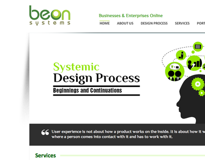 Beonsystems: Rebranding East Village Interactives