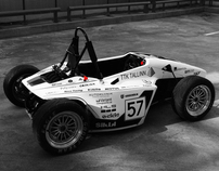 Formula student car body design