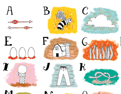 Illustrated ABCs