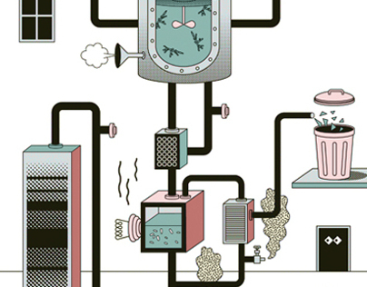 Editorial Illustration / Q3 Report »Technologie«