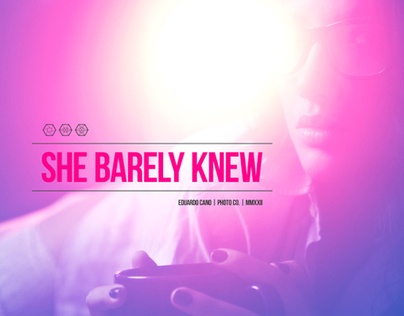 SHE BARELY KNEW | THE UNKNOWN ESSAY