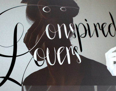 Conspired Lovers - Typeface