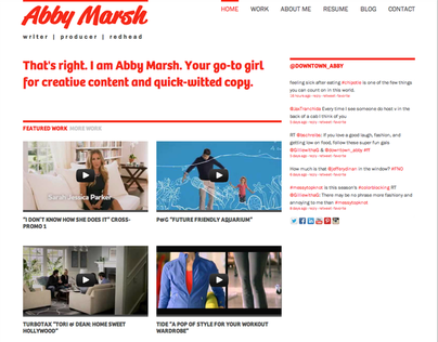 Abby Marsh Website
