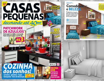 3D - Revista Casas Pequenas 1
