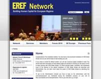 European Regional Economic Forums website remake