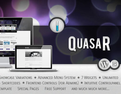 Quasar - Wordpress Theme