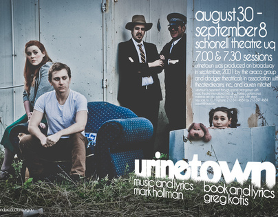 Urinetown - the Musical Publicity