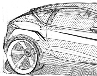 Cars and other drawings