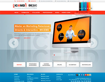 ICEMD ESIC - Website