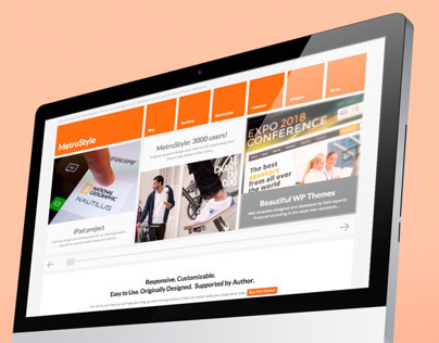 MetroStyle Responsive All Purpose Wordpress Theme