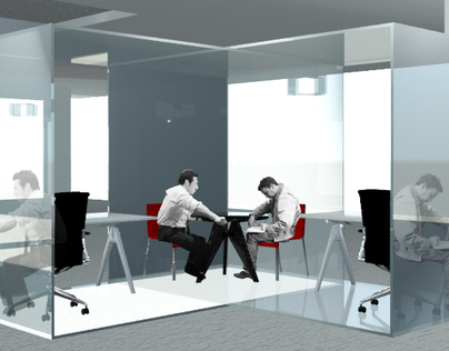 CUBICLE MODULES: Collaborative Spaces for Designers