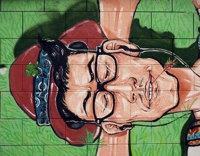Meet George - Wall painting