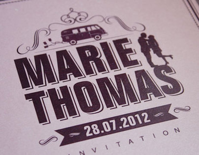 Marie and Thomas' wedding