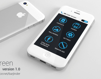 HD Caller Screen App