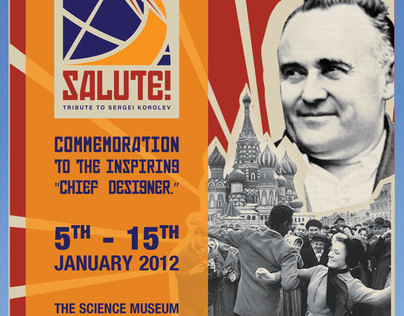 Tribute to The Chief Designer, Sergei Korolev