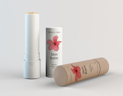 Cosmetic Balm Mock-up