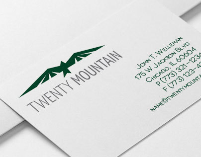 20 Mountain Logo